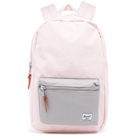 Herschel settlement backpack in light pink  grey f3aa557740fc8